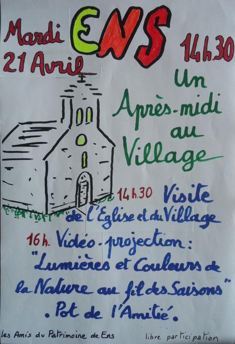 Visite de Ens le 21 avril - Les amis du patrimoine de Ens   Vallée d'Aure - Pyrénées   Scoop.it