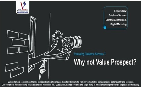 Value Prospect- Evaluating Database Services in India   APAC B2B List   Data across all industry Segments   Asian Markets B2B-B2C Data   Meenakshi Wire Products   Scoop.it