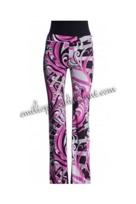 Emilio Pucci Printed Crepe-jersey Flared Pants Pink [Pink Printed Crepe pants] - $178.99 : Emilio pucci dresses online outlet,discount pucci dresses on sale! | fashion things | Scoop.it