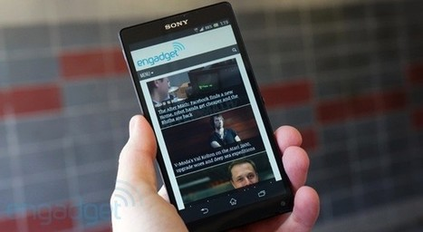 Sony Xperia ZL review: a giant phone in a surprisingly compact frame | Mobile Technology | Scoop.it