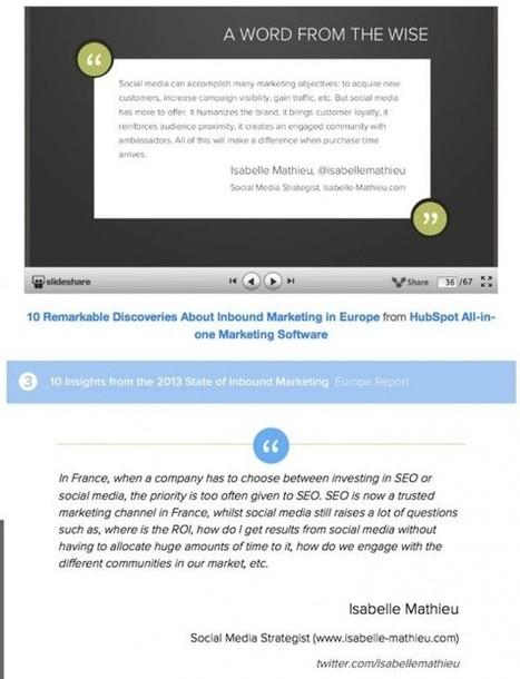 10 Découvertes Remarquables sur l'Inbound Marketing en Europe   Inbound Marketing   Scoop.it