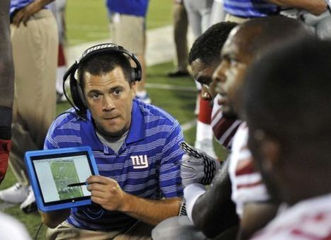 Tablets on NFL sidelines get positive reviews from Giants - Newsday | Mobile Technology | Scoop.it