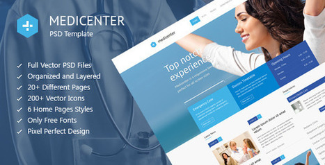 MediCenter – Medical Health PSD Template (Health & Beauty) | Best HTML Themes | Scoop.it