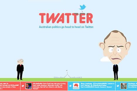 Twatter : une application pour se moquer de l'influence des hommes politiques sur Twitter ! | Geek 2015 | Scoop.it