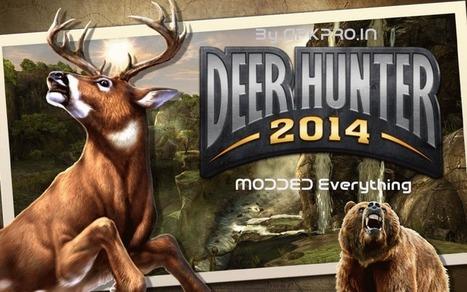 DEER HUNTER 2014 v1.1.0 Extreme Mod (Everything) - APK Pro World | APK Pro Apps | Scoop.it