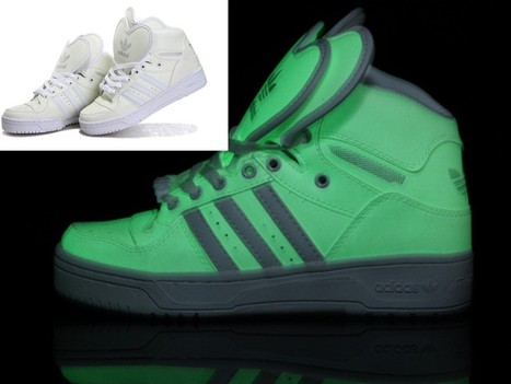 Adidas Glow In The Dark Double Heart Shape Tongue Shoes For Sale Online   Cheap Glow In The Dark Adidas Online   Scoop.it