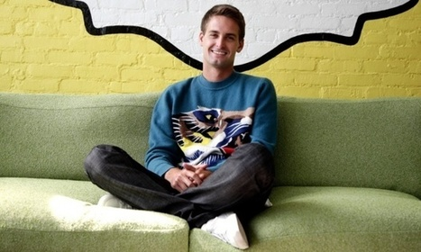 Snapchat boss sees music as a 'really interesting opportunity' | Musicbiz | Scoop.it