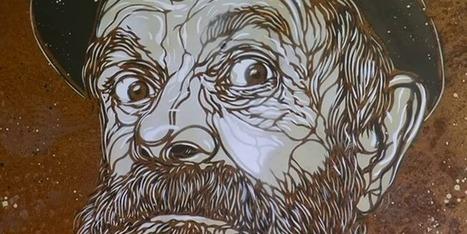 C215 : la tendresse du maître du pochoir pour les gens de la rue   Richard and Street Art   Scoop.it