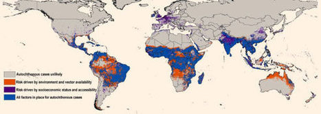 Les probabilités d'extension du virus Zika cartographiées au niveau mondial / New Map Predicts Spread of Zika Virus | EntomoNews | Scoop.it
