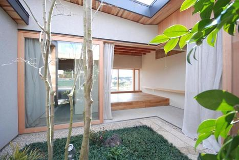 The Kishigawa Residence, small courtyard house by Mitsutomo Matsunami | Idées d'Architecture | Scoop.it