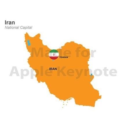 Map of Iran for iPad Keynote Presentation | Apple Keynote Slides For Sale | Scoop.it