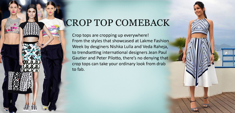 The Return of the Crop Top | Fashion | Scoop.it