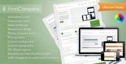 InnoCompany - Multipurpose Corporate Drupal theme | Theme Mart | Scoop.it