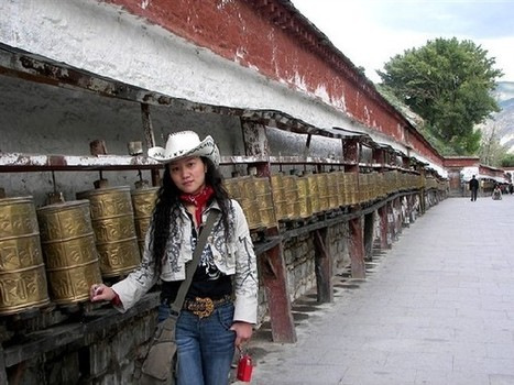 An artist's self-discovery in Tibet[1] chinadaily.com.cn-discovery in Tibet - China Daily   Tibetan Spiritual Jewelry   Scoop.it
