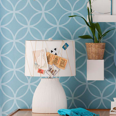 DIY : un abat-jour transformé en mood board | Best of coin des bricoleurs | Scoop.it