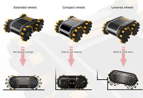 Limbo, l'aspirateur robot qui utilise les bactéries comme énergie et qui monte les escaliers ! | Les robots domestiques | Scoop.it