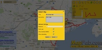 Free Technology for Teachers: MapFab is a Fabulous Map Creation Tool | Edtech PK-12 | Scoop.it