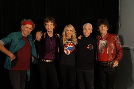 Carrie Underwood Rocks On Stage With The Rolling Stones | the rolling stones | Scoop.it