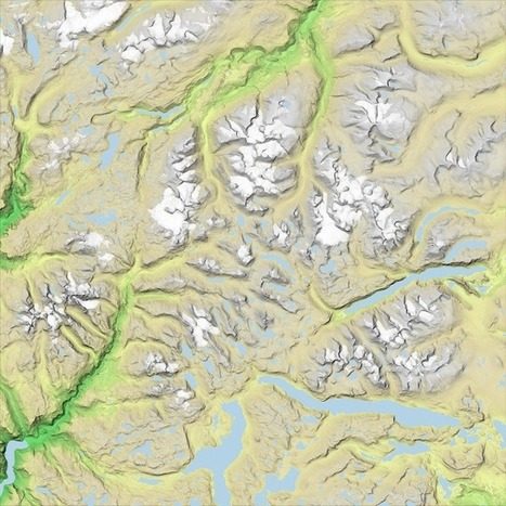 Textural terrains with three.js | zkgis | Scoop.it