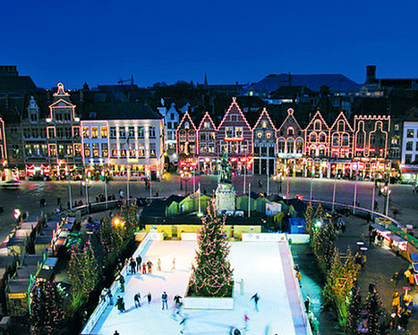 "Walk into a Winter wonderland and the magic of Belgium's Christmas markets | ""World Travel"" info 世界旅行の情報 