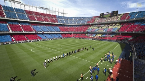 "FIFA 14 Brings New 3D Technology to Make Soccer Stadiums ""Living Worlds"" 