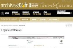 Les registres matricules du Tarn-et-Garonne sont en ligne | Rhit Genealogie | Scoop.it