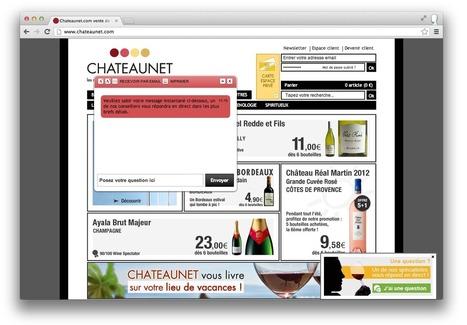 CHATEAUNET et CHATEAUPRIMEUR conseillent par Chat des amateurs de vin | iAdvize | Vin 2.0 | Scoop.it
