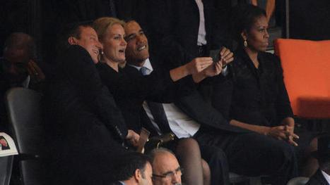 "Mandela Memorial Photographer Defends Obama's ""Selfie"" | What's new in Visual Communication? | Scoop.it"