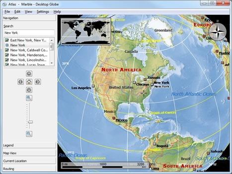 Globo terráqueo y Atlas virtual portable por @luz_tic | globo t | Scoop.it