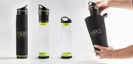 Fontus, une bouteille qui transforme l'air en eau potable   Innovation et technologie   Scoop.it