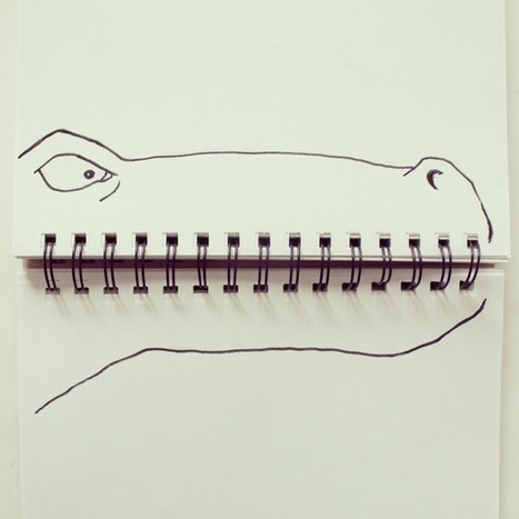 17 Playful Doodles that Incorporate Everyday Objects | xposing world of Photography & Design | Scoop.it