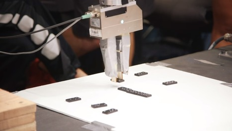 Stanford Students Build Robot Arms Capable of Playing Dominoes, the Xylophone | Heron | Scoop.it