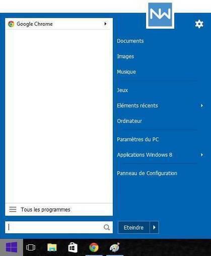 Windows 10 : retrouver aisément le menu démarrer de Windows 7 ou 8 | Freewares | Scoop.it