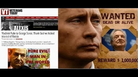 Leaked Memos Show George Soros Plotted to Oust Putin, Destabilize Russia - ITCW | Business Video Directory | Scoop.it