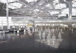 Heydar Aliyev International Airport terminal Autoban interiors Project explains - Online Urban Planning | Airport Projects | Scoop.it