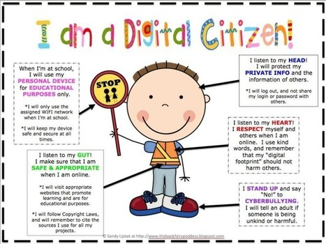 What It Takes To Be A Good Digital Citizen | Global Education Database | Relax jokes | Scoop.it