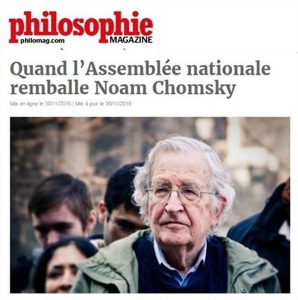 Quand l'Assemblée nationale remballe Noam Chomsky | mvasteels | Scoop.it