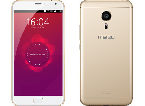 Meizu PRO 5 Ubuntu Edition Smartphone is Up for Sale for $370 | Embedded Systems News | Scoop.it