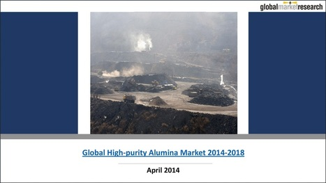 Global High-purity Alumina Market Research Reports | Research On Global Markets | Scoop.it