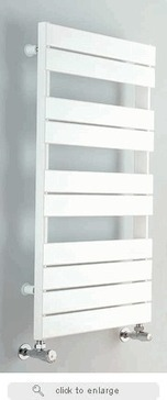 "Myson INT3 Interlude 59.25"" x 19.75"" Contemporary Hydronic Steel Construction Towel Warmer 