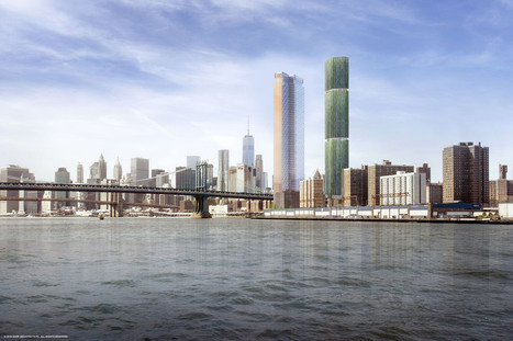 SHoP Unveils Design for New Skyscraper in Manhattan's Lower East Side | retail and design | Scoop.it
