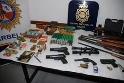 Arrestadas tres personas en Marbella que almacenaban 11 armas de fuego y numerosa munición | ZOMECS | Scoop.it