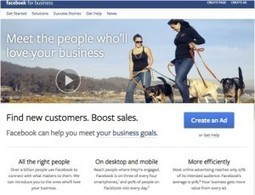 """Facebook Launches """"Facebook for Business"""" Resource for Marketers 