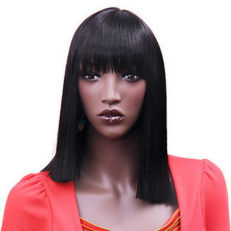 High Quality Synthetic Medium Long Straight Fashion Wig – WigSuperDeal.com   African American Wigs   Scoop.it