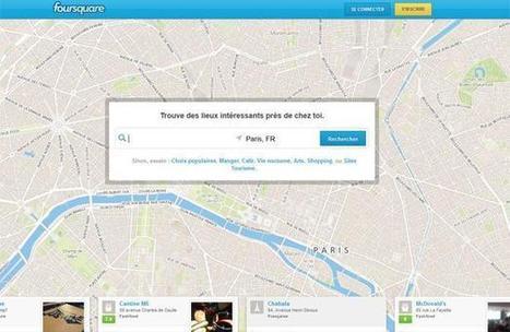 Foursquare n'acceptera bientôt que les «noms complets» | Libertés Numériques | Scoop.it