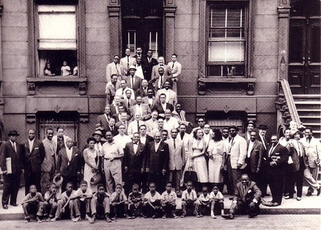 """About the photo """"A Great Day in Harlem"""" 