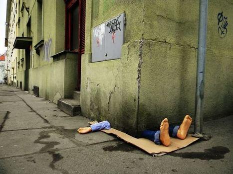 Fra.Biancoshock, experiencias callejeras con un humor crítico - 20minutos.es | Arte Pubblica | Scoop.it