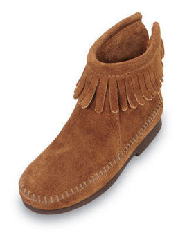 Back Zipper Boot - Shop Mens, Womens, Childrens Moccasins - The Moccasin Shop | TheMoccasinShop | Scoop.it