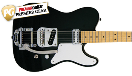 Squier Vintage Modified Cabronita Telecaster with Bigsby Review - Premier Guitar | Electric guitars | Scoop.it