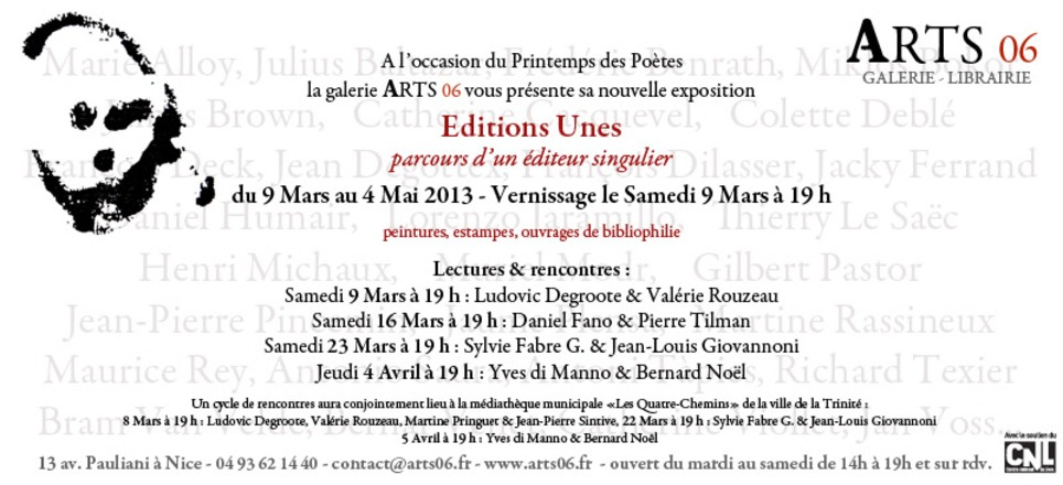 Yves di Manno, Nice, le 4 avril 2013 | Poezibao | Scoop.it